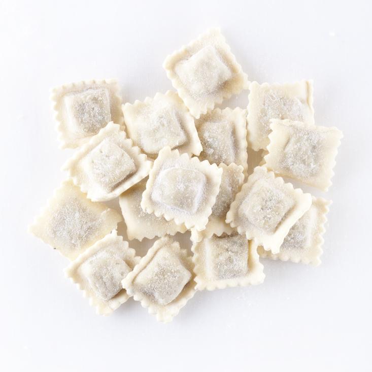 Frozen or fresh Ravioli