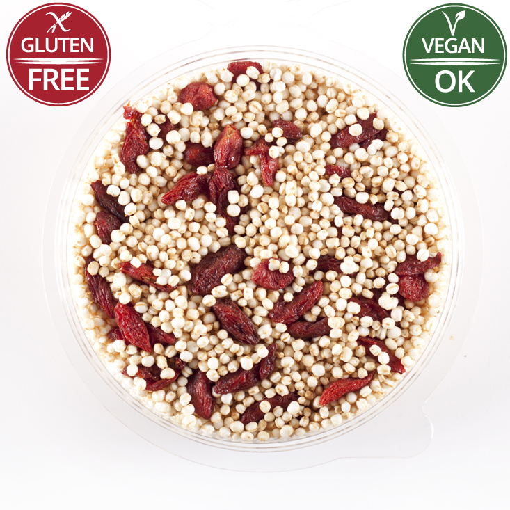 Gluten Free Goji berries Granola Mix